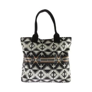 Women's Pendleton canopy canvas tote spider rock